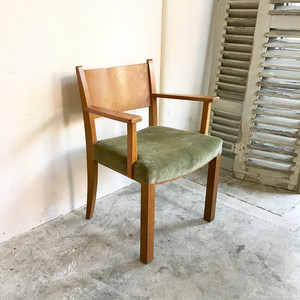 """H.Pander & Zonen"" Dutch Oakwood Arm Chair  1930's オランダ"