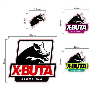 [ステッカー] X-BUTA