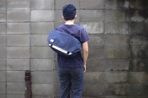 メッセンジャーバッグSサイズ 帆布紺色