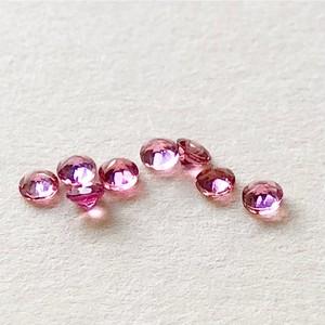 人生をあふれる愛で満たす【最強の恋愛お守り】「宝石質ピンクトルマリンの10kピアス」