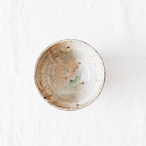 N0339 灰釉粉引き碗