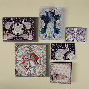 Rabbit & Hare Card Bundle