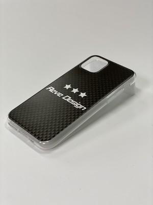 《ReveDesign》iPhone11Pro スマホケース カーボン調