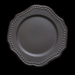 Matte scallop plate  / マット スカラップ プレート