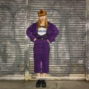 【Flapper's】corduroy skirt
