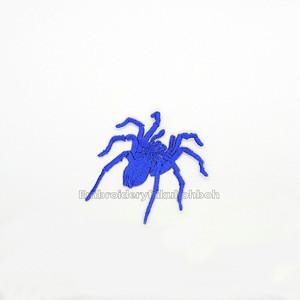 タランチュラ大 刺繍ワッペン 蜘蛛 昆虫 虫