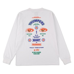 SECURITY SIGN L/S TEE / THUMPERS