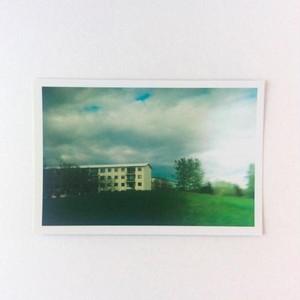 ポストカード アイスランド レイキャビックのアパートメント
