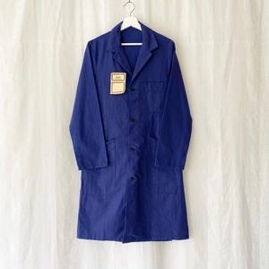 FRANCE 60s〜vintage blue chambray atelier coat DEAD STOCK
