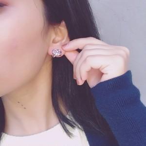 Christian Dior silver earrings