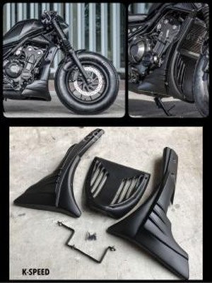 【RB0010】Diablo Custom UNDER FAIRING COVER BELLY PAN PANEL ENGINE GUARD Works For Rebel 500