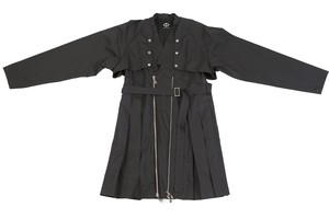 Docking Trench Coat (Black)