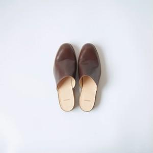 Shop shoes (dark brown)