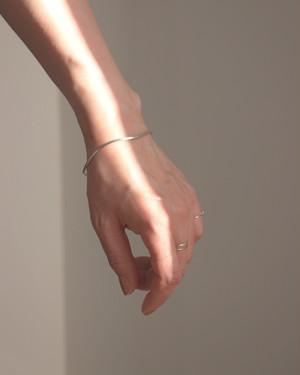 Line -silver- / Bangle