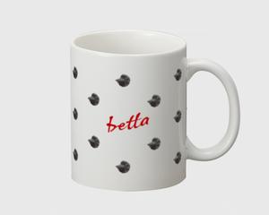 ベタドットマグカップ