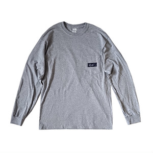 scar /////// BLACKBOX POCKET L/S TEE (Grey)