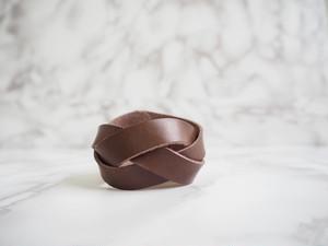 【leather】ブレスレット(ブラウン)