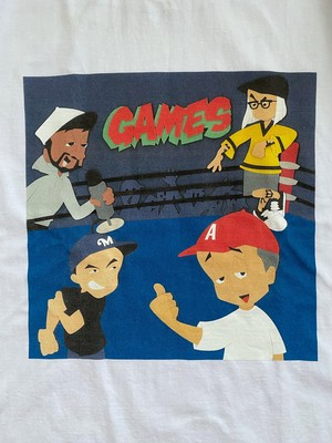 "WD SOUNDS × wackwack ""GAMES"" S/S Tee"