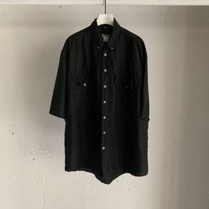 Vintage silk shirt / black