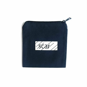 scar /////// BLACK BOX TOOL POUCH (XS) (Navy)