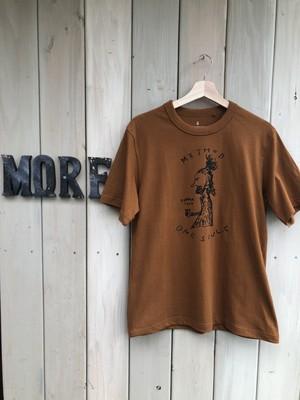 【'20】Tシャツ <Methodメソッド> Cafe色