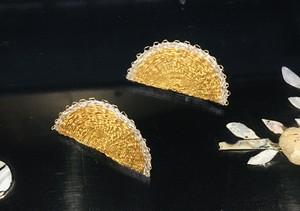 URUKIシリーズ「偃月」gold L【イヤリング】