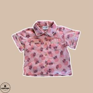 «即納» mini ps market  フラワーシャツ