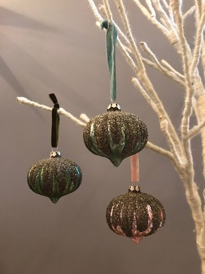 Cody Foster SNOW CAPPED ORNAMENT
