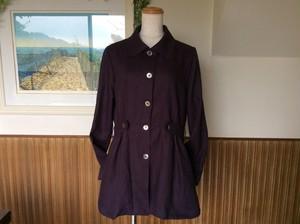コピー:ディープパープルのノルマンディーリネン100%のジャケット