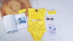 Kiranacoco Crochet Highwaist Bikini♥