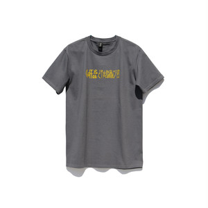 Maskita Laba coffee & cigarettes band TシャツGRAY