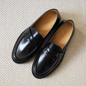 【libenis × MARSEE】Glass Leather Coin Loafer 【受注生産】【9/中旬〜9/下旬発送予定】