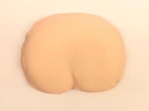 まんまる枕(さらさらニットカバー・ベージュ)