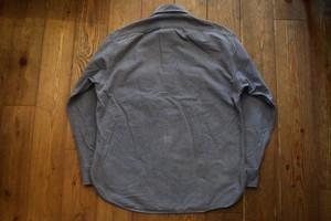 USED REI シャモアクロスシャツ 80s ブルーグレー