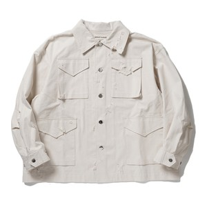 "ISSUETHINGS ""01"" SO EXCLUSIVE(NATURAL WHITE HARD DAMEGE)"