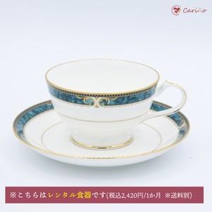 ノリタケ エセックスコート ティーカップ&ソーサー 190cc (1700019)