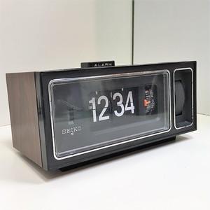 SEIKO パタパタ時計【木目調】(0301204S60)
