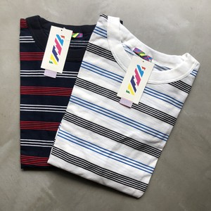 STOCK SALE ! is-ness / BORDER T-Shirt