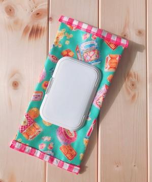 ウェットティッシュポーチ【お菓子・ミント】