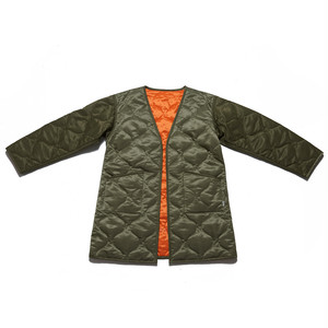 QUILTING COAT - KHAKI