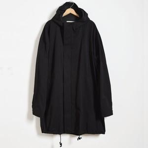 suzuki takayuki スズキタカユキ フーディーコート black anorac