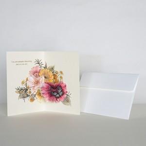 """greeting card""""Gerbera"""""""