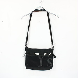 Y's / ワイズ   × NEW ERA / ニューエラ / ロゴプリントサコッシュ バッグ   -   ブラック   レディース