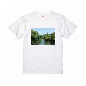 【寄付対象】【CHIKUGO百景】星野川Tシャツ(送料無料)