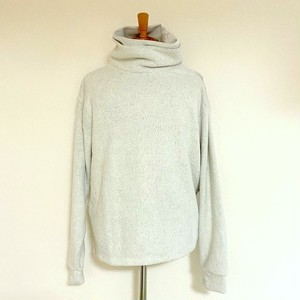 Knit & Sewn Layered Loose Neck Off White
