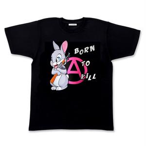 PSYCHOWORKS BORN TO KILL PINK t-shirt