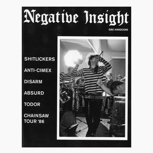 NEGATIVE INSIGHT zine vol.3  ZINE + 7""