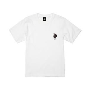 ホプリテスロゴ#3 半袖 白