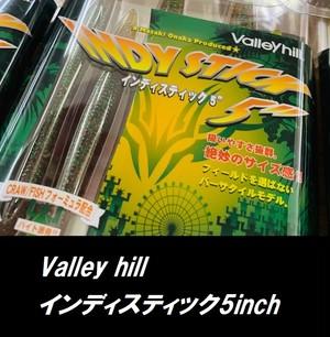 Valley hill / インディースティック  5インチ