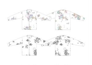 【cielkocka】ワンダラスシャツ(カラフル)